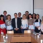 """Адвокати компанії успішно завершили навчання за Сертифікатною програмою """"Права людини у бізнес-середовищі"""", організованою UCU Rule of Law."""